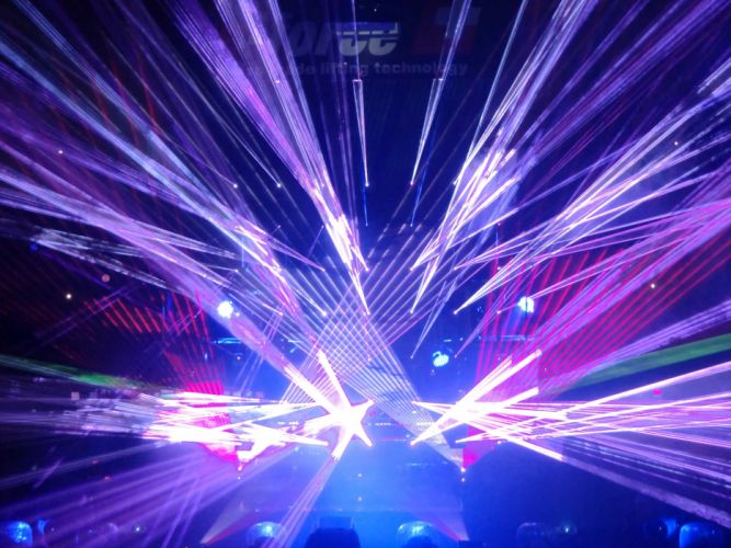 laser show concert lights color abstraction psychedelic wallpaper