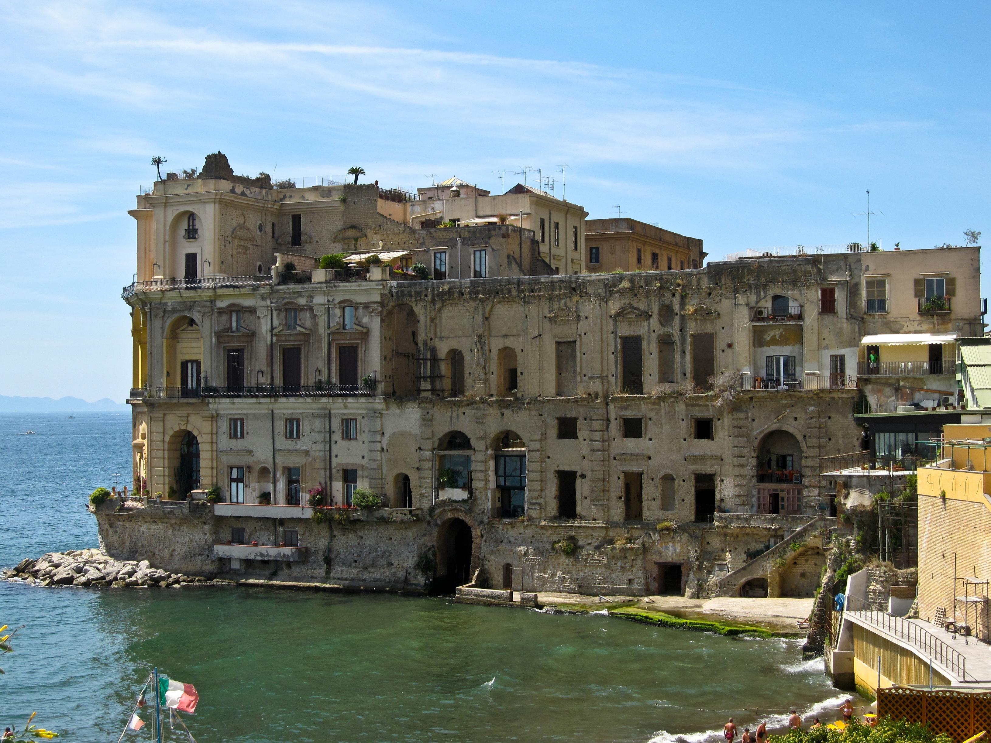 Naples Italy City Cities Building Buildings Italian Napoli