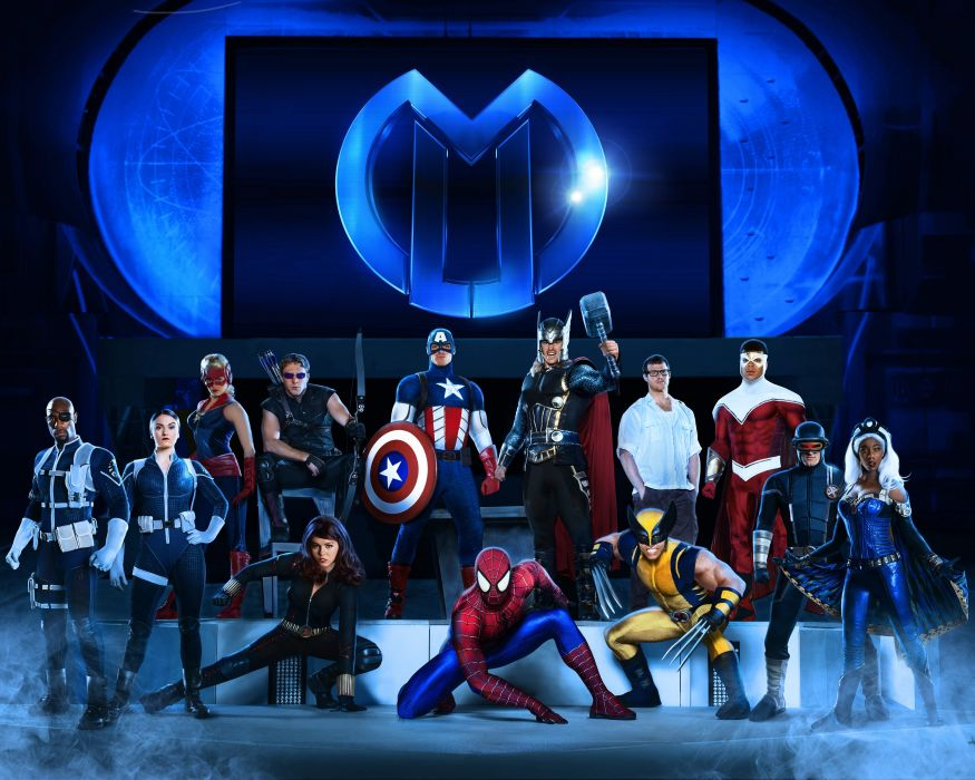 MARVEL UNIVERSE LIVE superhero comics game concert cosplay wallpaper