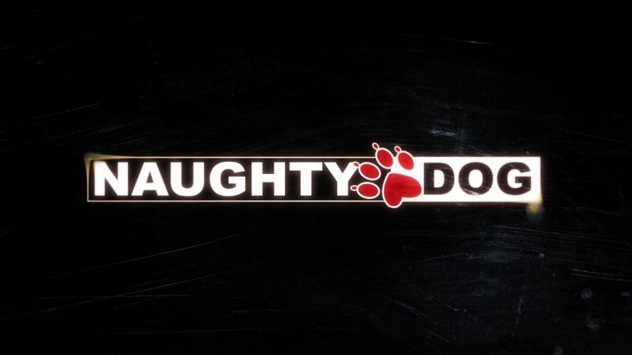 naughty dog naughtydog dark red yellow game wallpaper