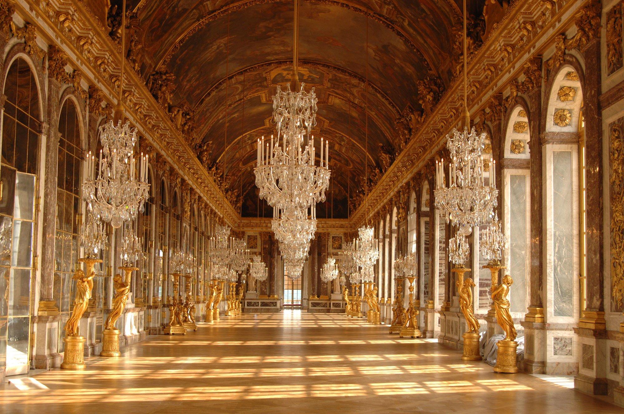 Chateau De Versailles Palace France French Building Design