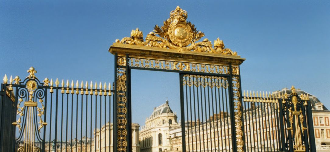 CHATEAU de VERSAILLES palace france french building fence wallpaper