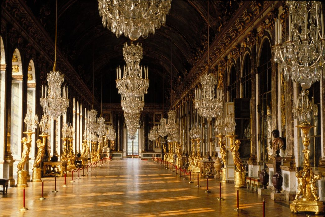 CHATEAU de VERSAILLES palace france french building design room wallpaper