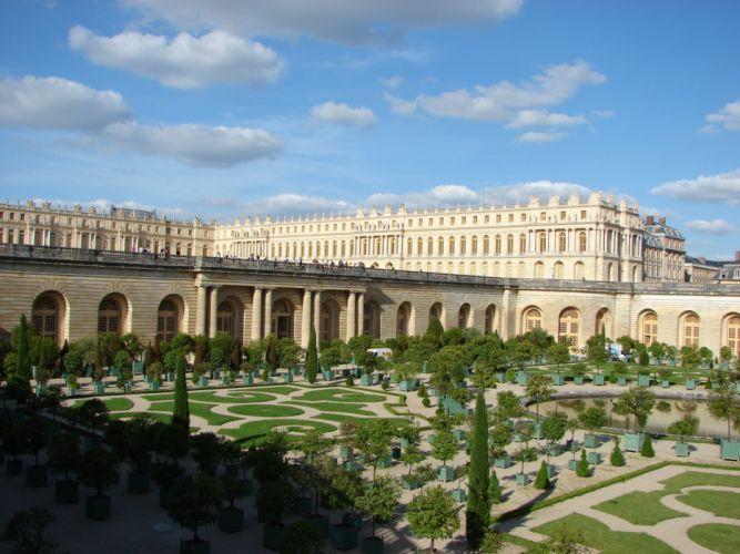 CHATEAU de VERSAILLES palace france french building wallpaper