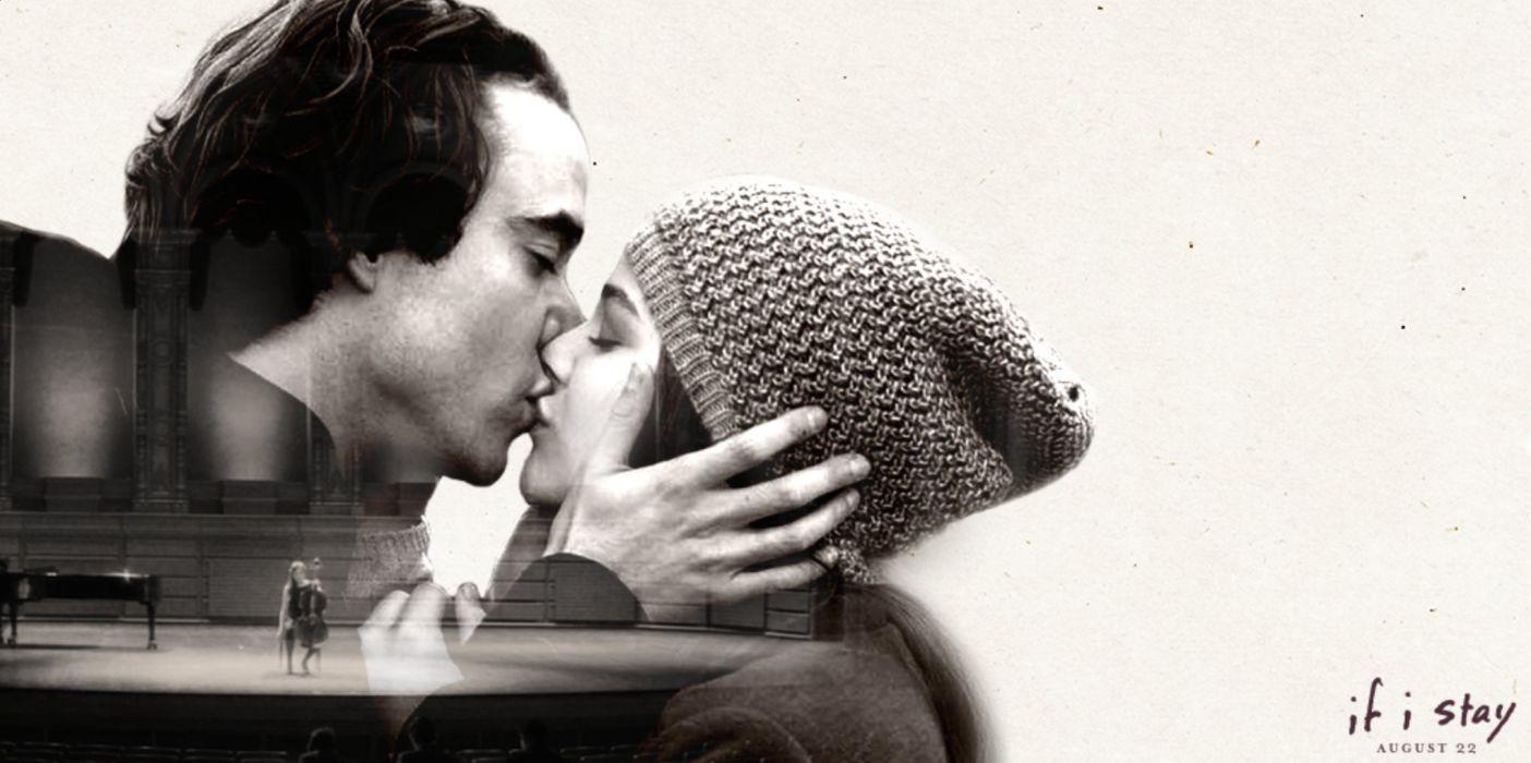 IF-I-STAY drama stay romance chloe grace moretz mood love kiss wallpaper
