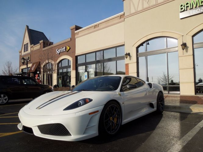 F430 Ferrari scuderia Supercar white coupe italia wallpaper