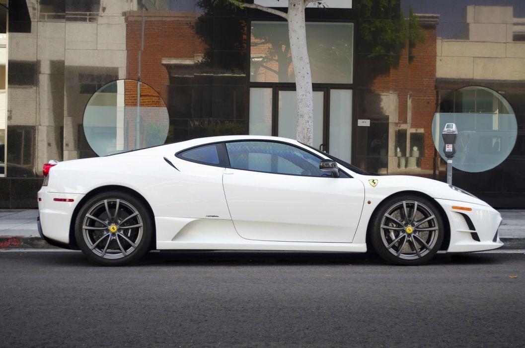 F430 Ferrari scuderia Supercar white coupe italia wallpaper