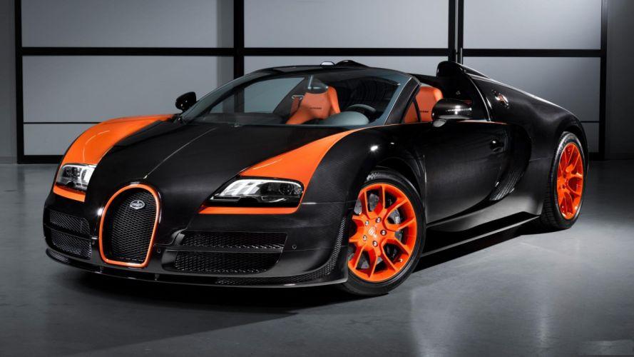2013 Bugatti Veyron 16 4 Grand Sport Vitesse wrc wallpaper