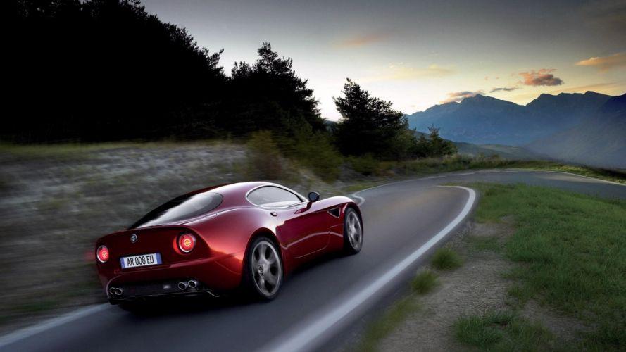 Alfa Romeo 8c Competizione 2012 wallpaper