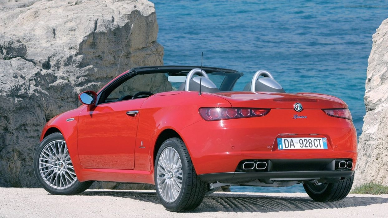 Alfa Romeo Spider 2006 wallpaper