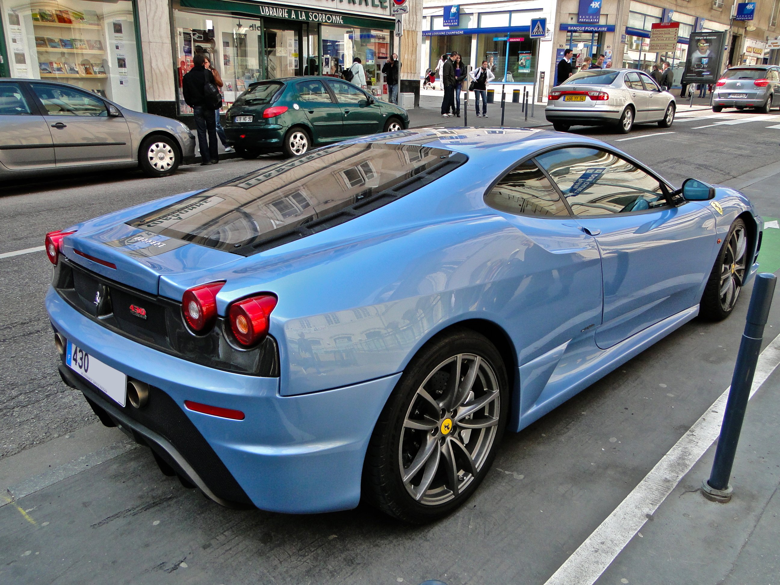 Coupe F430 Ferrari Italia Scuderia Supercar Blue Blu Wallpaper 2592x1944 428469 Wallpaperup