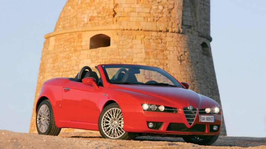 Alfa Romeo Spider 2006 wallpaper