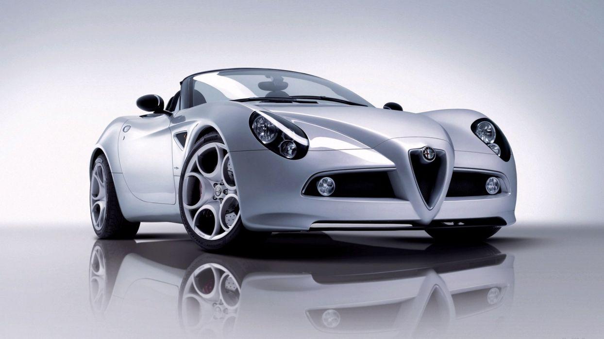 Alfa Romeo 8C Spyder wallpaper