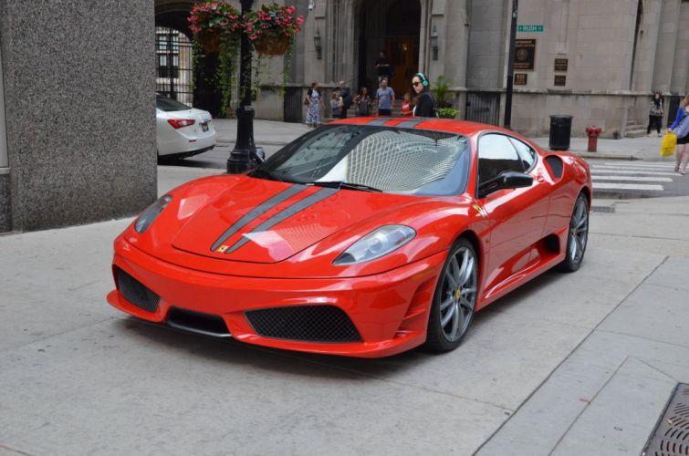 Coupe F430 Ferrari red rosso rouge Italia scuderia Supercar wallpaper