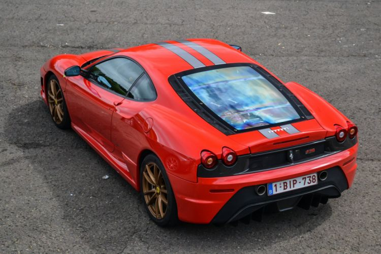 Coupe F430 Ferrari red rosso rouge Italia scuderia Supercar wallpaper