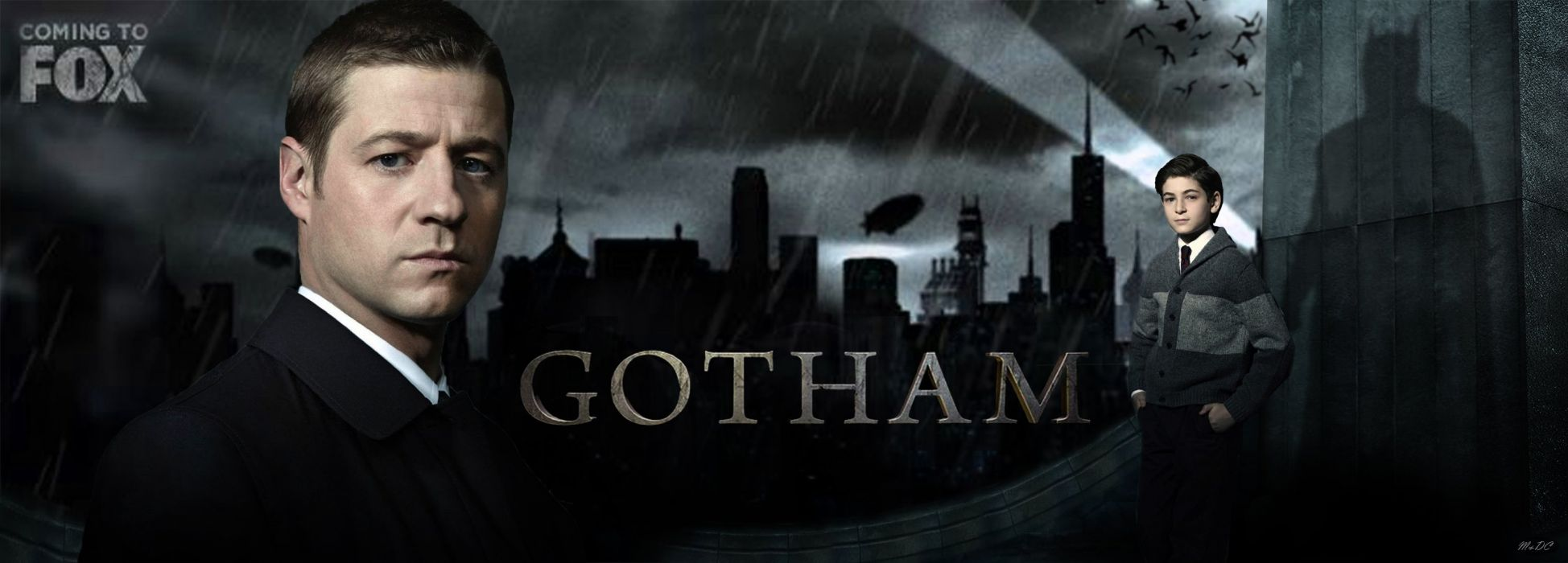 GOTHAM series batman action superhero dc-comics d-c wallpaper