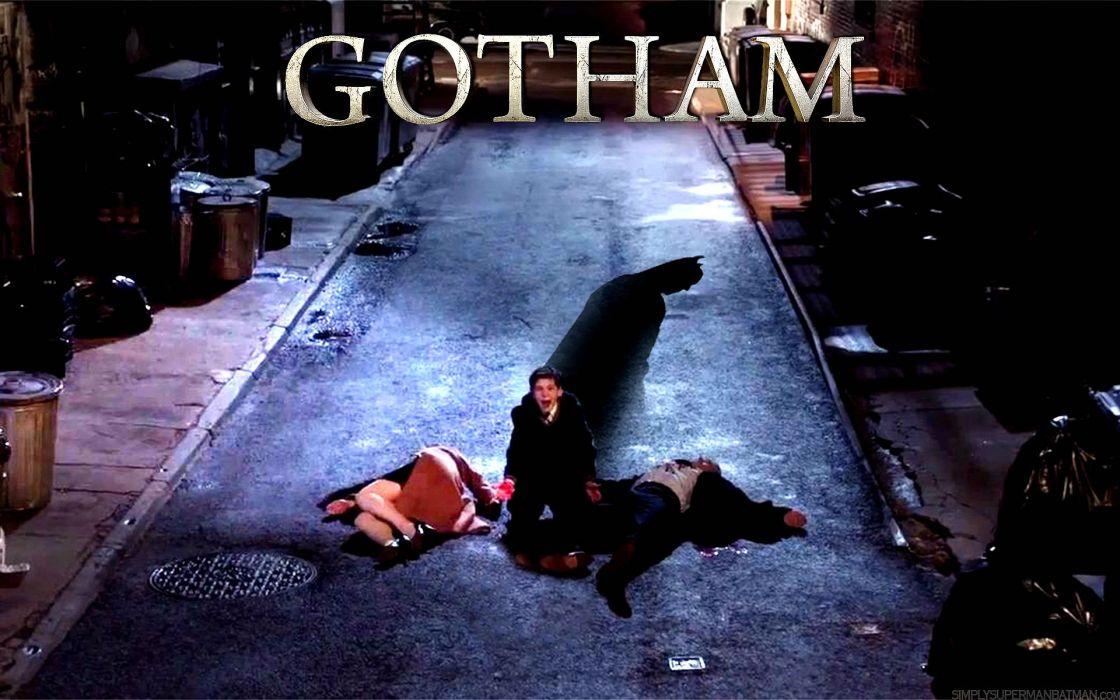 GOTHAM series batman action superhero dc-comics d-c wallpaper