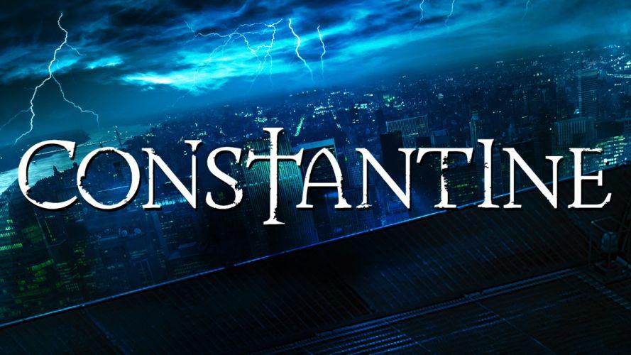 CONSTANTINE series fantasy horror drama dc-comics wallpaper
