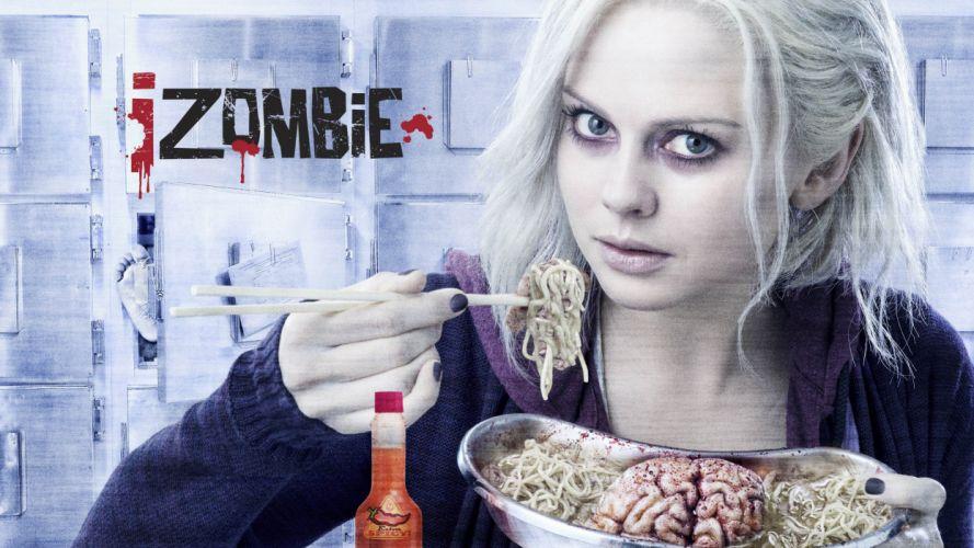 IZOMBIE series dc-comics comics crime drama horror zombie wallpaper