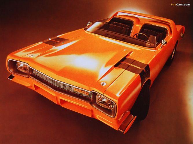 Plymouth Road Runner Concept Car 1964 wallpaper