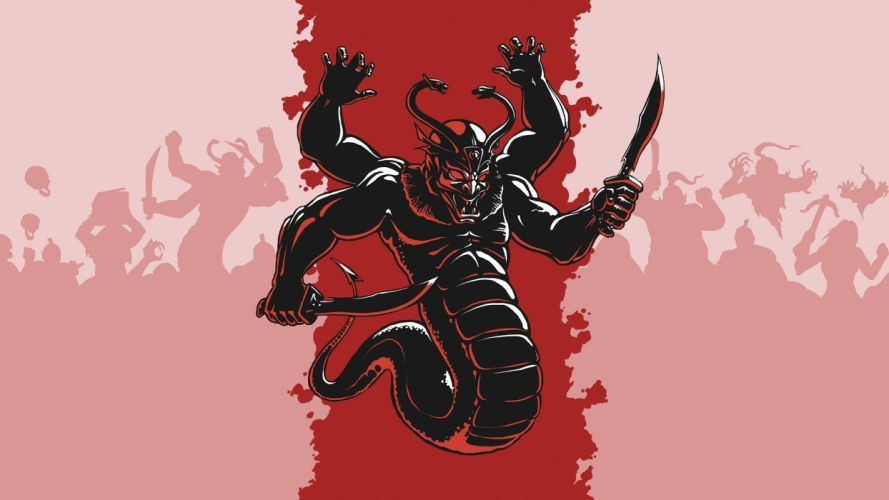 SHADOW WARRIOR shooter ninja samurai fighting sci-fi wallpaper