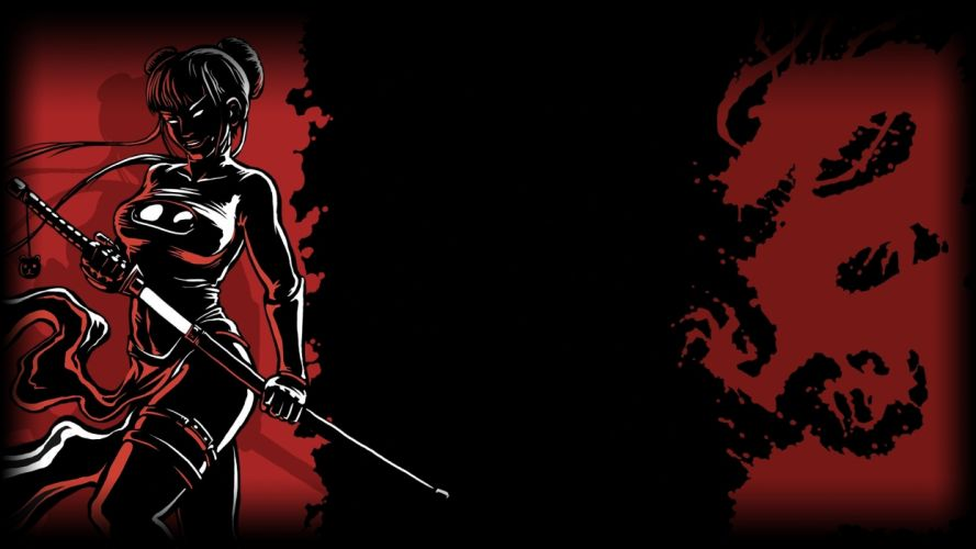 SHADOW WARRIOR shooter ninja samurai fighting sci-fi wallpaper