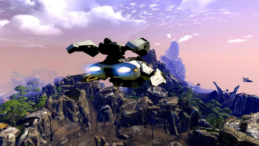 FIREFALL shooter mmo online fantasy sci-fi wallpaper