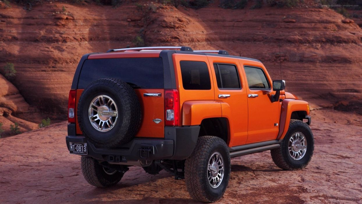 2008 Hummer H3 Alpha wallpaper