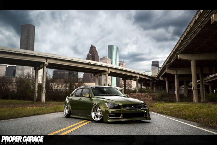 Lexus is300 tuning wallpaper