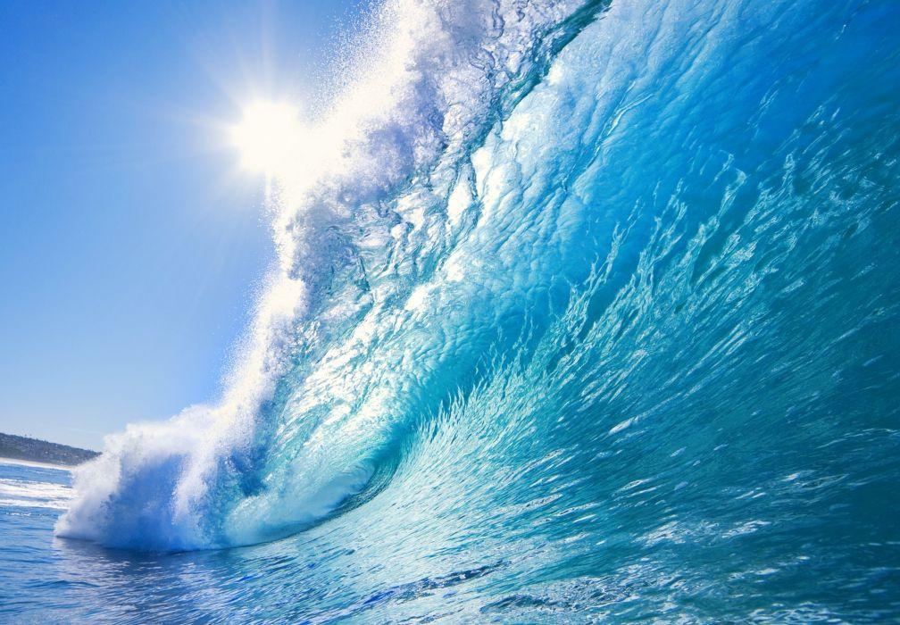 wave sea nature waves ocean wallpaper