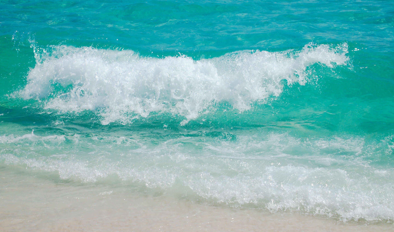 Waves ocean sea beach ...