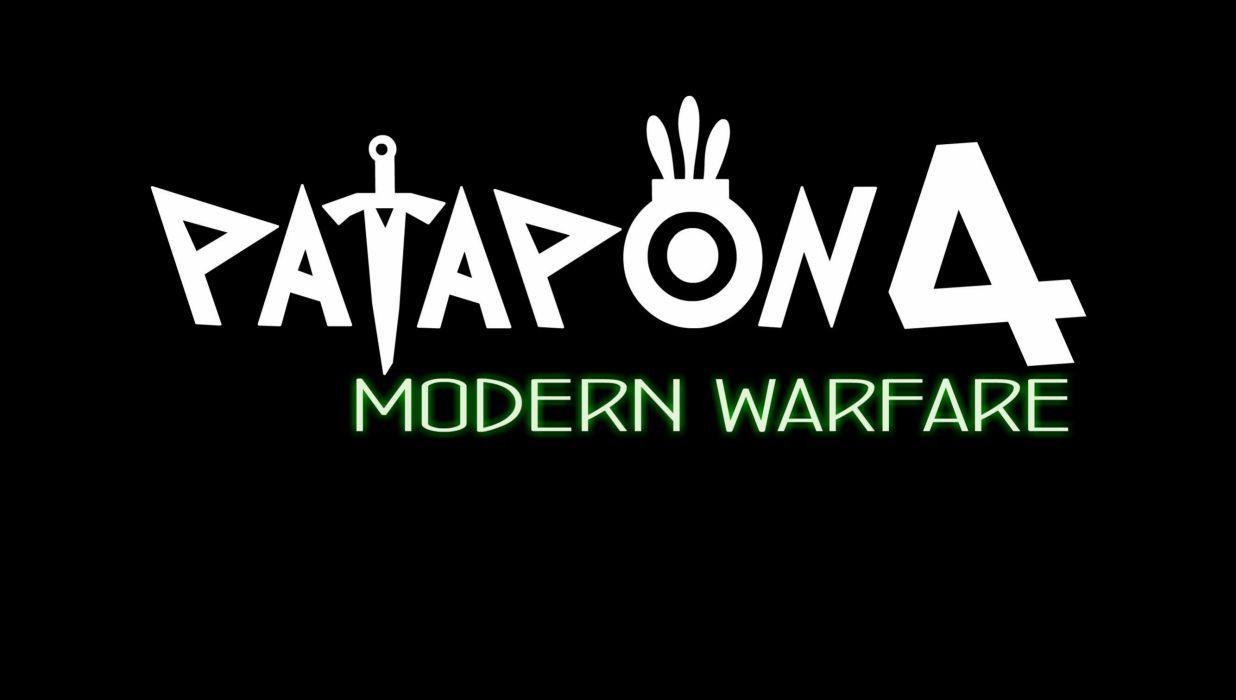 PATAPON rhythm god war fighting action wallpaper