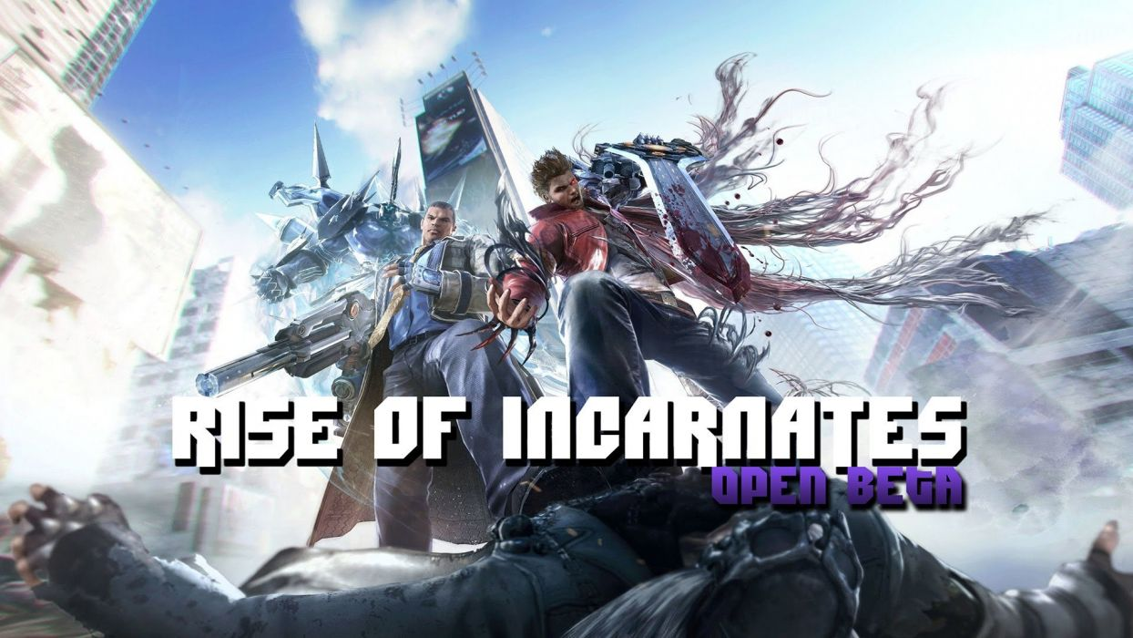 RISE OF INCARNATES fighting sci-fi wallpaper