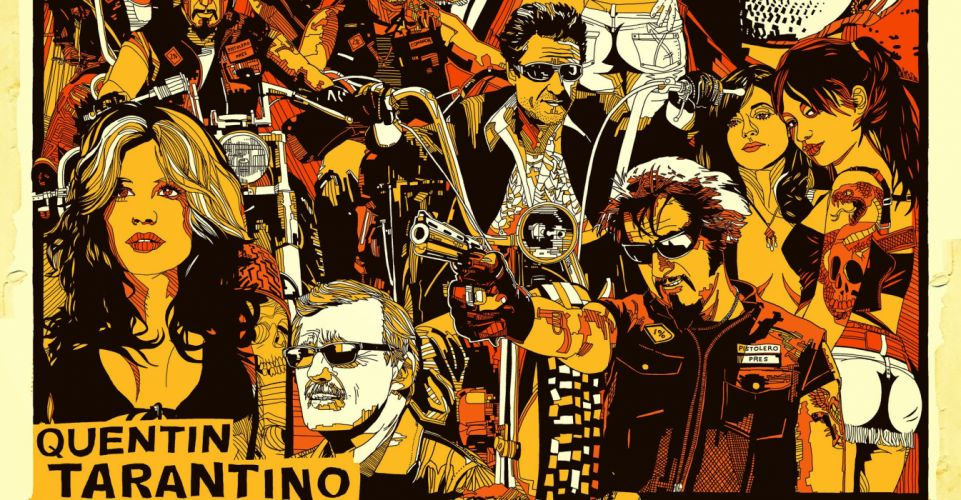 HELL RIDE action biker motorcycle Tarantino adventure drama wallpaper