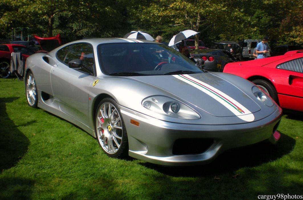 2003 360 challenge Ferrari stradale gris grigio wallpaper