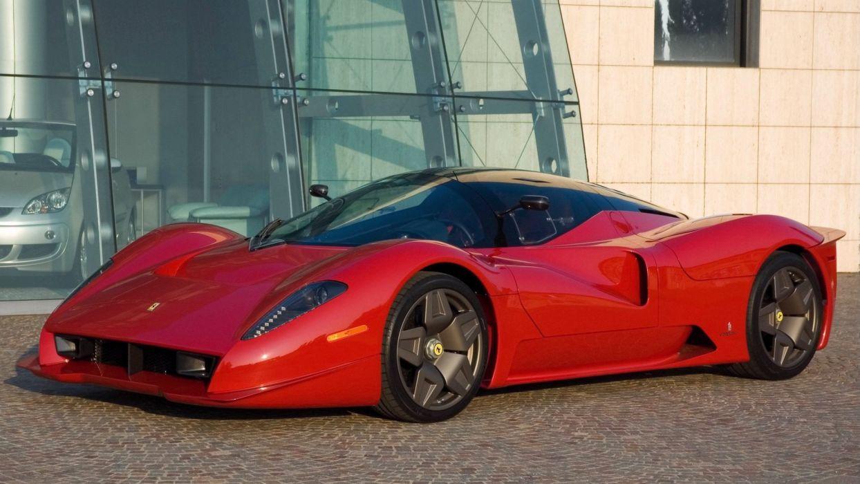 Pininfarina Ferrari P4-5 wallpaper