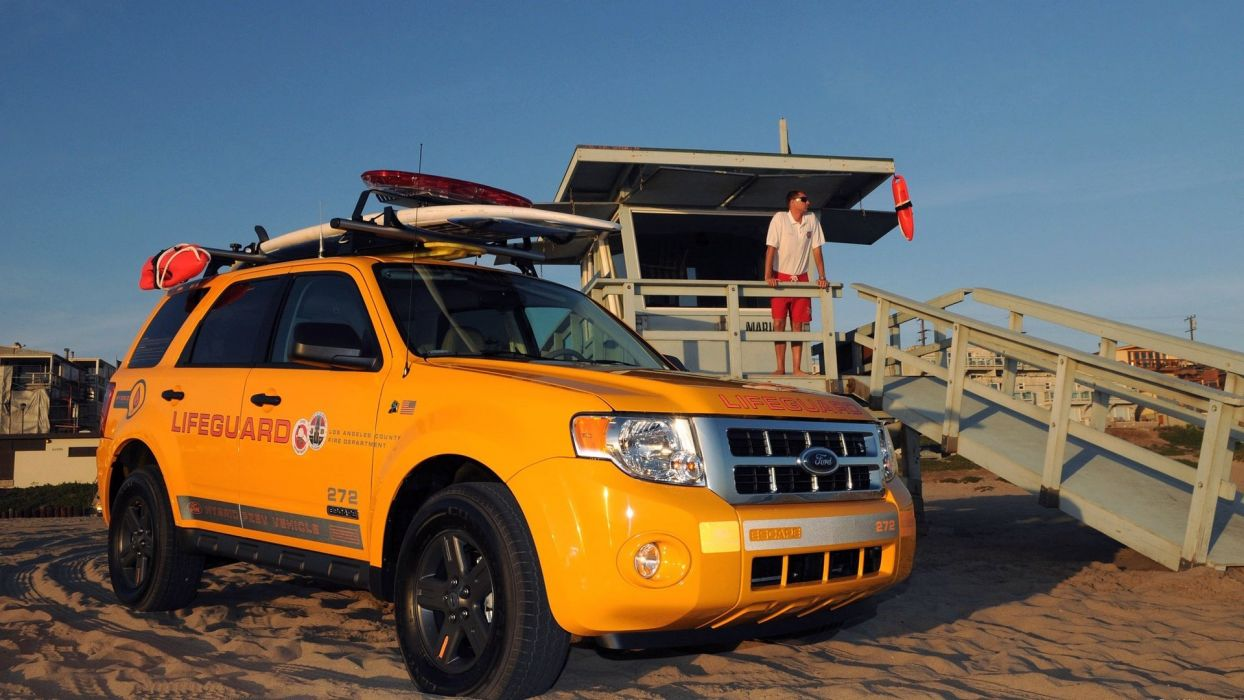 2008 Ford Escape Hybrid Lifeguard Vehicles wallpaper