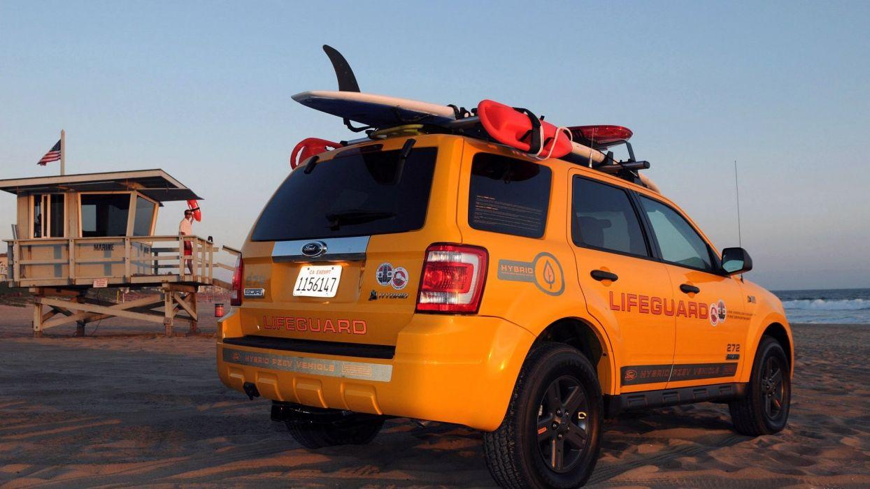 2008 Ford Escape Hybrid Lifeguard Vehicles wallpaper