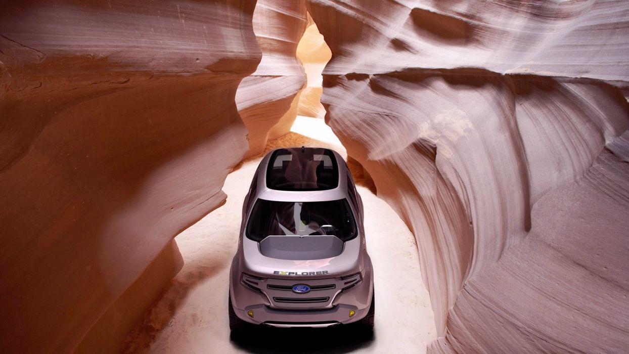 Ford Explorer America Concept 2008 wallpaper