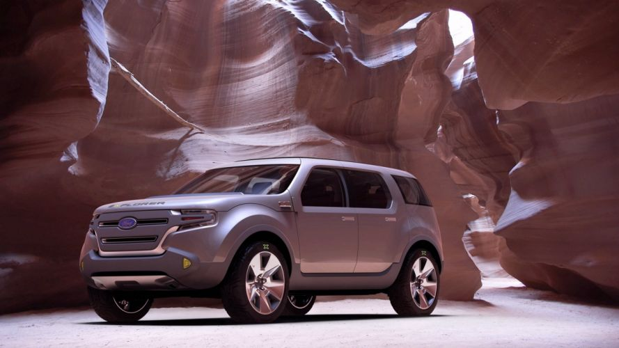Ford Explorer America Concept 2008 wallpaper