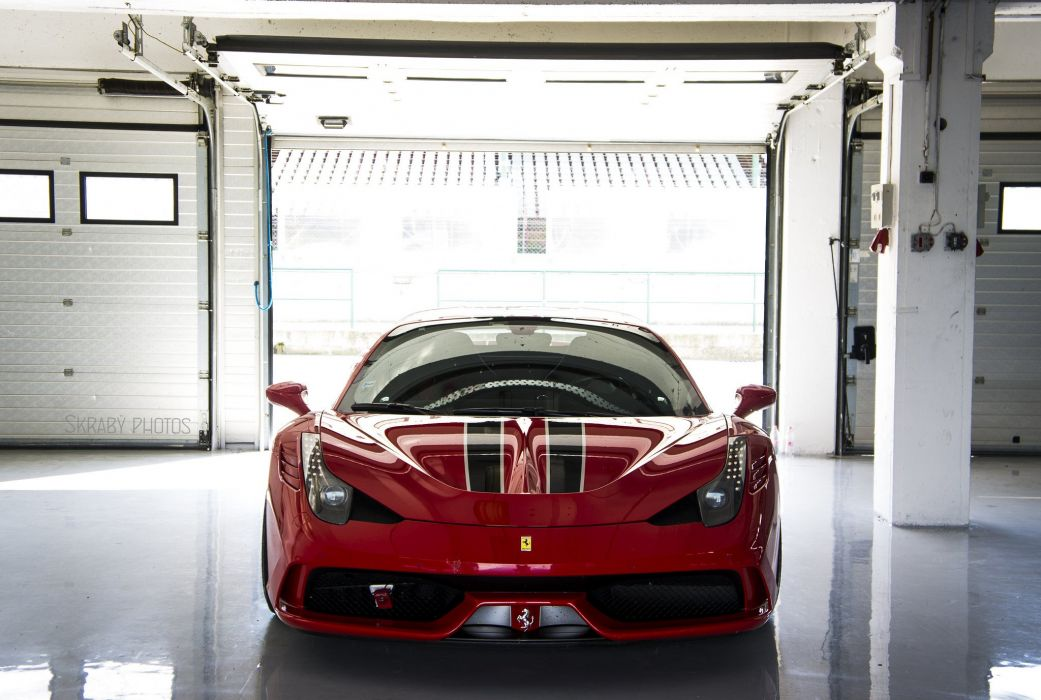 2013 458 Ferrari speciale Supercar rouge red rosso wallpaper
