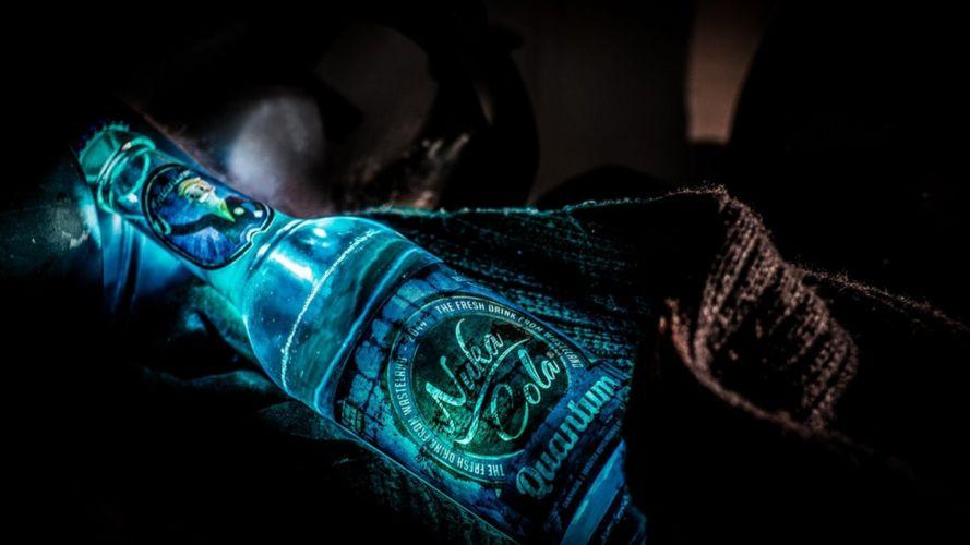 nuka cola Quantum bottle lights duke nukem soda wallpaper