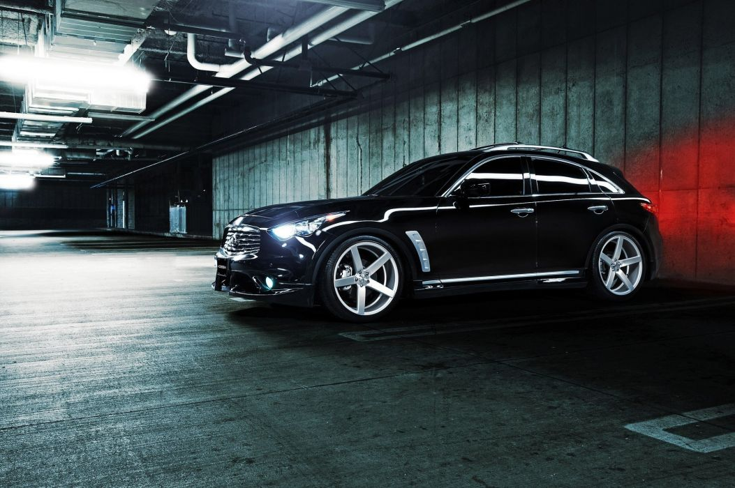 vossen infiniti fx35 tuning wallpaper