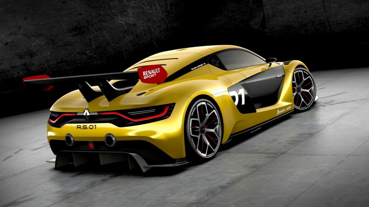Renault RS 01 concept supercars wallpaper