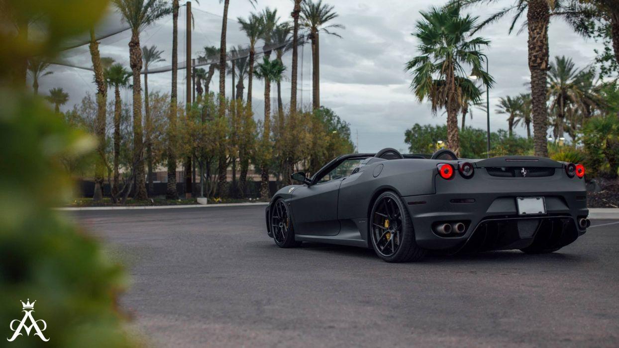 Aristo Forged Wheels Black Matt Ferrari F430 Spider
