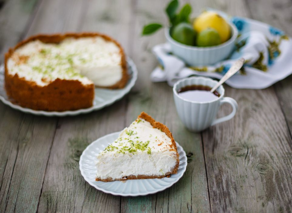 cheesecake dessert cake lemon baking wallpaper