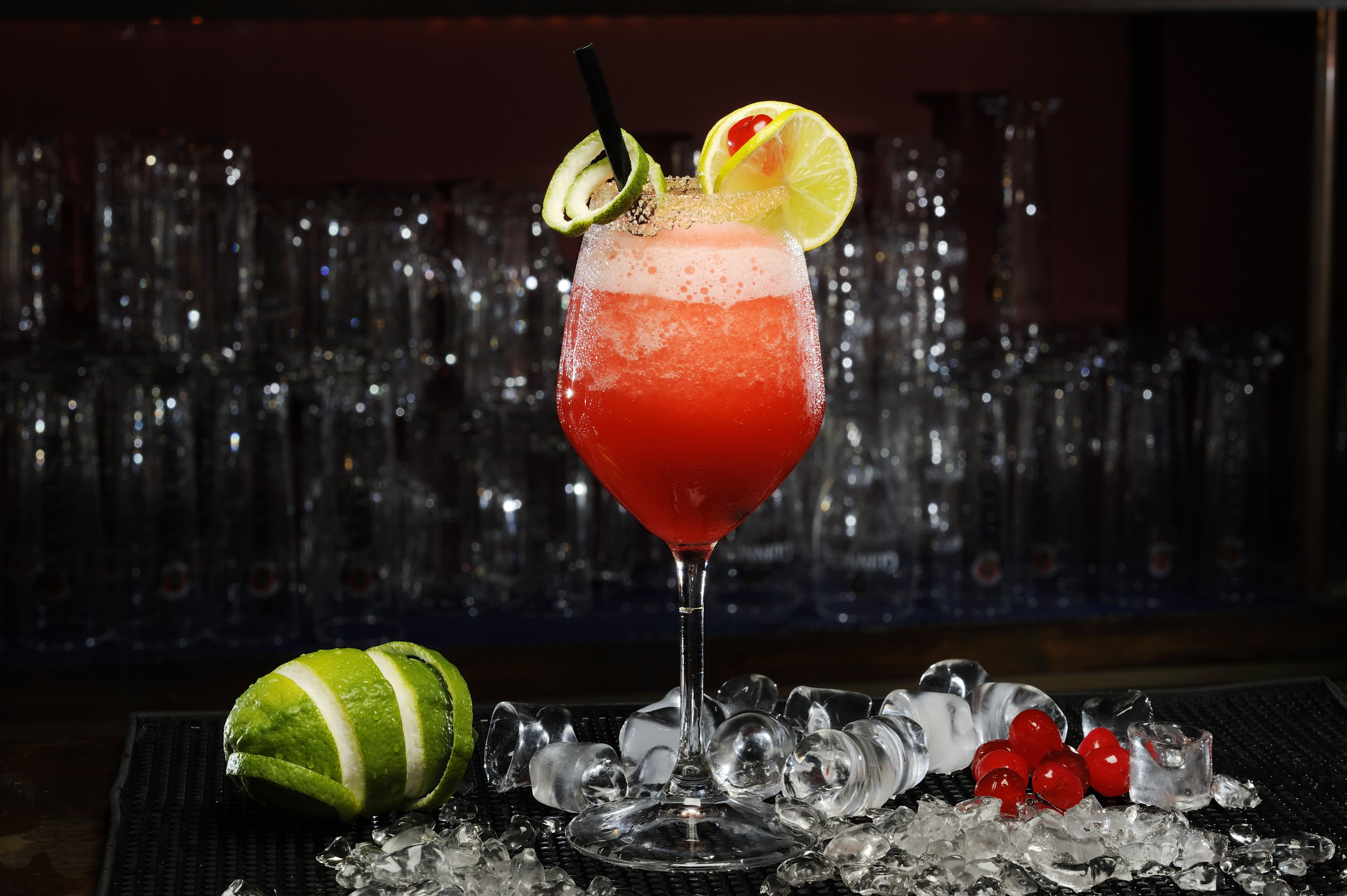 Daiquiri Fruit Cocktail Ice Drink Alcohol Wallpaper