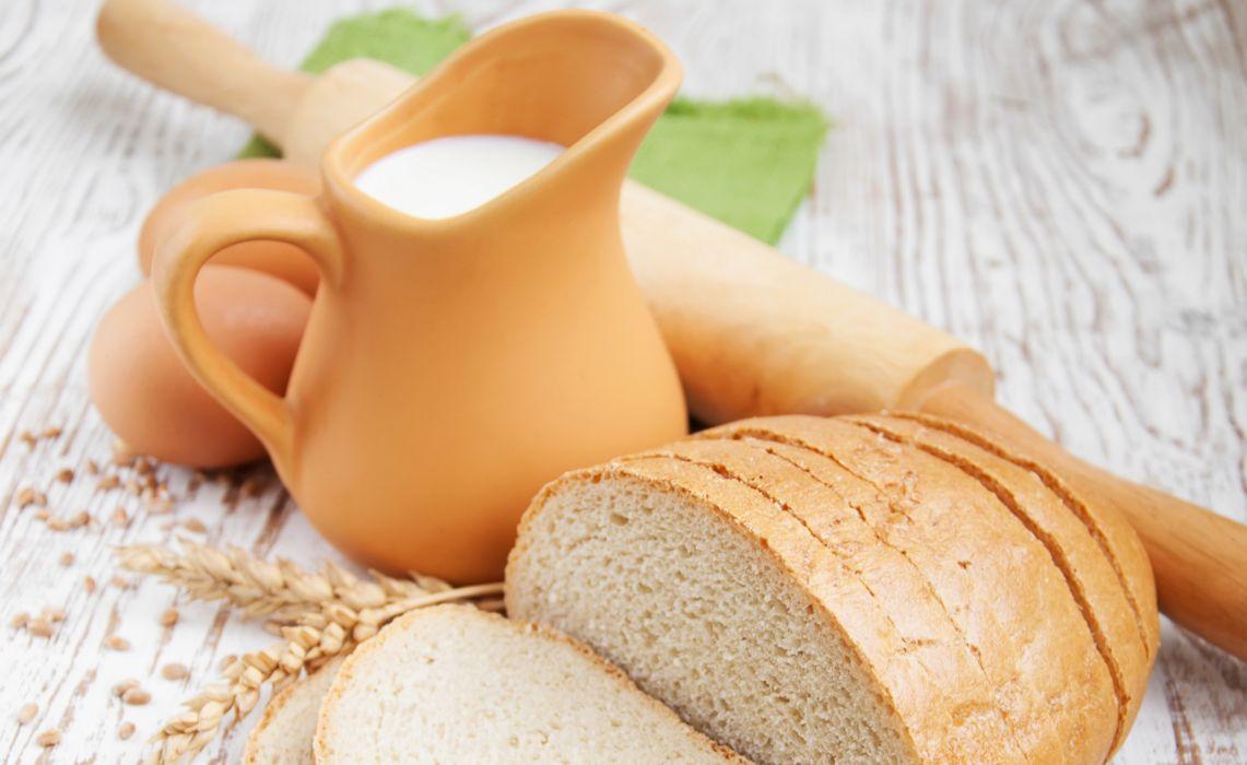 eggs skalka kuvshin bread Moloko wallpaper