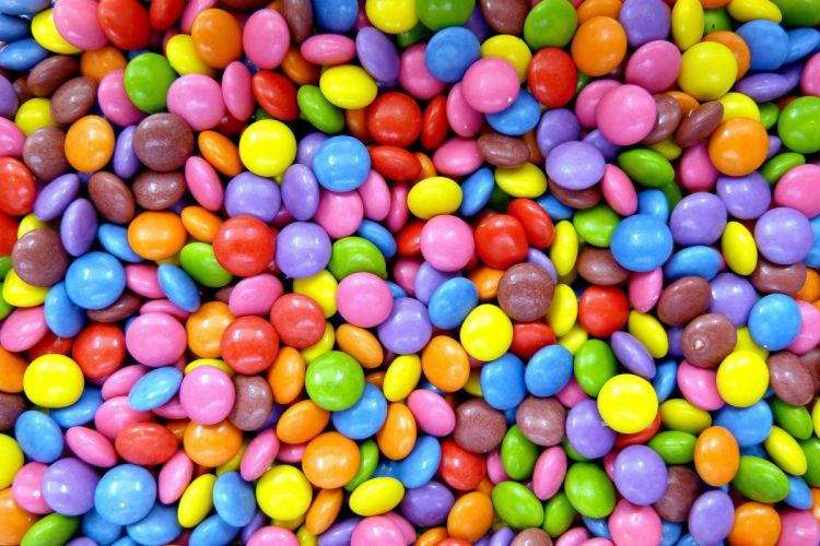 food sweets candy psychedelic wallpaper