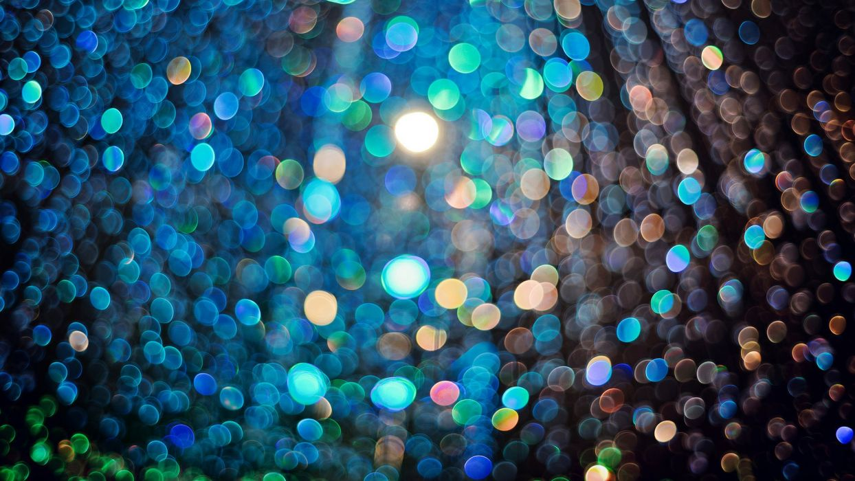 light bokeh glare many disco psychedelic wallpaper